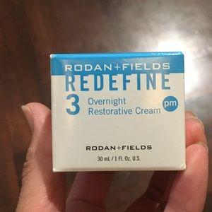 Other - RODAN + FIELDS REDEFINE PM cream brand new